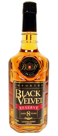 Black Velvet Canadian Whisky Reserve 8 Year